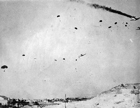 the battle for heraklion german paratroops over heraklion nzhistory new zealand history online