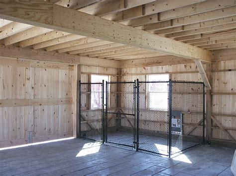 dog kennel in garage for garage keeps them out of toxic fluids as well with