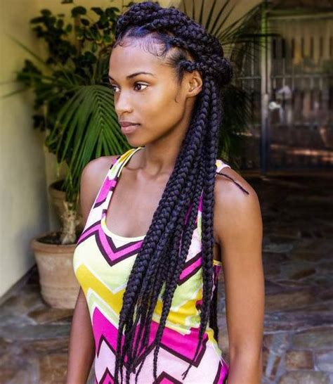 cost of box braid on long thick hair 50 exquisite box braids hairstyles to do yourself