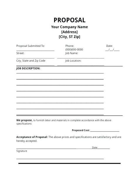 Electrical Contractor Proposal Template New Contractor Proposal Template Free Contract Agreement Electrical Contract Template