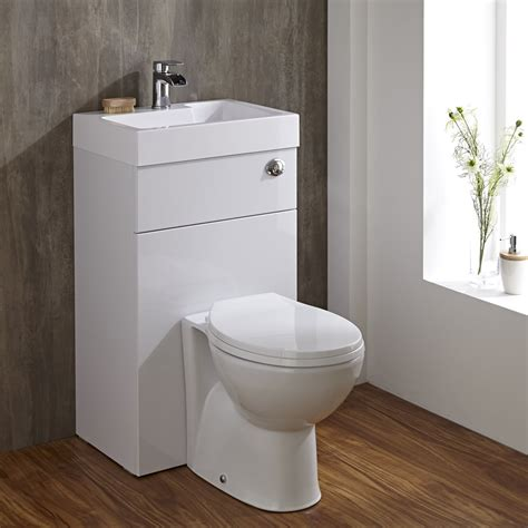 toilet bathroom milano combination toilet basin unit