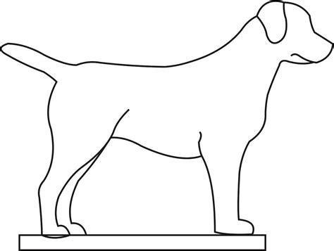 puppy template outline of a pictures to pin on pinsdaddy