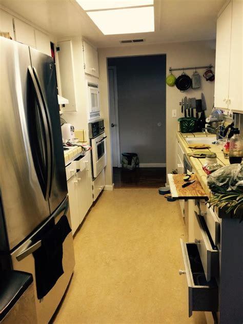 1970s galley kitchen