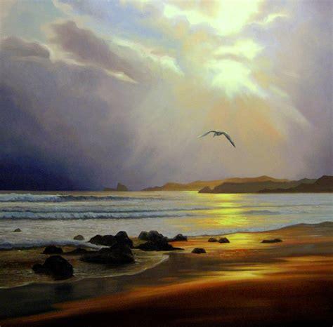 imagenes de paisajes oleo pinturas cuadros lienzos paisajes realistas pintados al