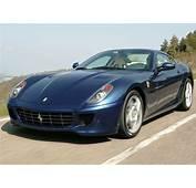 Ferrari 599 GTB Fiorano Navy Blue  Car Pictures Images