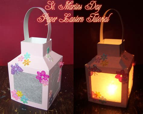 How To Make Beautiful Paper Lanterns - st martins day tutorial handmade cuddles