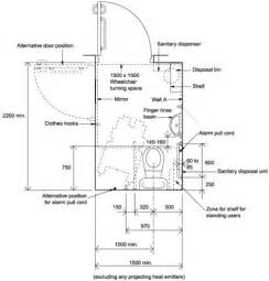 Handicap Accessible Bathroom Floor Plans value low level disabled toilet room pack doc m pack