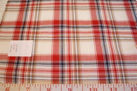 Plaid Patchwork Fabric - madras plaid indian madras plaid fabric patchwork