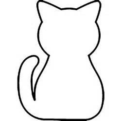 Simple Outline Of A by Basic Cat Outline Clipart Best
