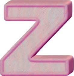 alphabet letter z