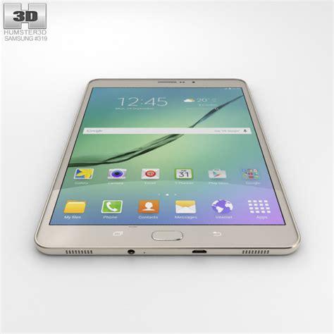 Samsung Galaxy Tab S2 Lte samsung galaxy tab s2 8 0 inch lte gold 3d model hum3d