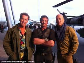 Bruce Willis Seen Out With by The Expendables 2 Stuntman Dies In Explosion On Set