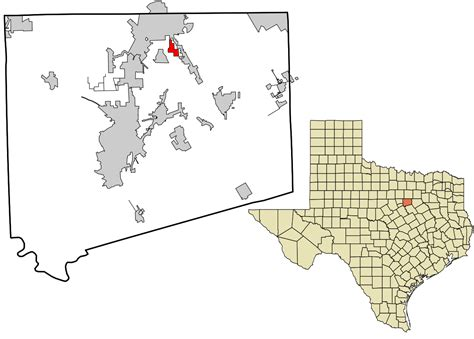 johnson county texas map file johnson county texas incorporated and unincorporated areas briaroaks highlighted svg