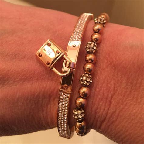 Pave Lock 45 Michael Kors Jewelry Nwt Michael Kors