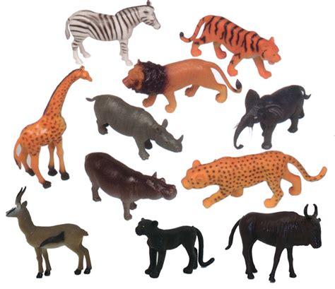 Wisebuy 12 New Plastic Animals Figures Set With Coconut Tree get ready plastic animal play set jungle animals 11