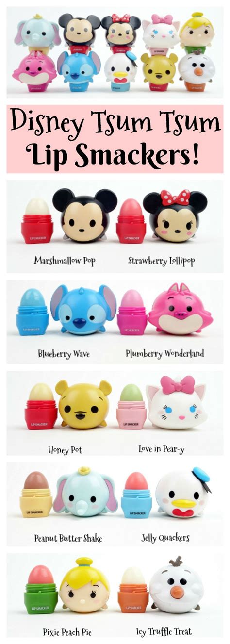 Tsum Tsum Biskuit by Disney Tsum Tsum Lip Smackers Mousecalls Disney