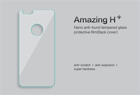 Iphone 6 6s Tempered Glass Nillkin Amazing H Pro Original 1 nillkin amazing h tempered glass baksidesskydd till apple iphone 6 6s guld themobilestore
