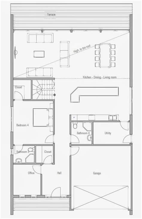 affordable home plans modern house plan ch146 affordable home plans affordable home plan ch190