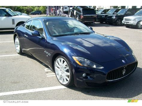 maserati blue 2008 maserati granturismo blue 200 interior and
