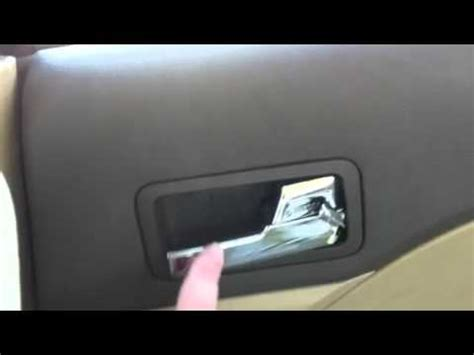 Ford Fusion Interior Door Handle Ford Fusion Broken Door Handle How To Save Money And Do It Yourself