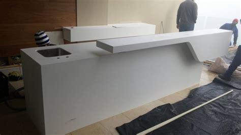 corian bar counter techno surfaces