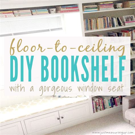 Diy Bookcase Ideas Built In Bookshelves With A Window Seat How To Build A