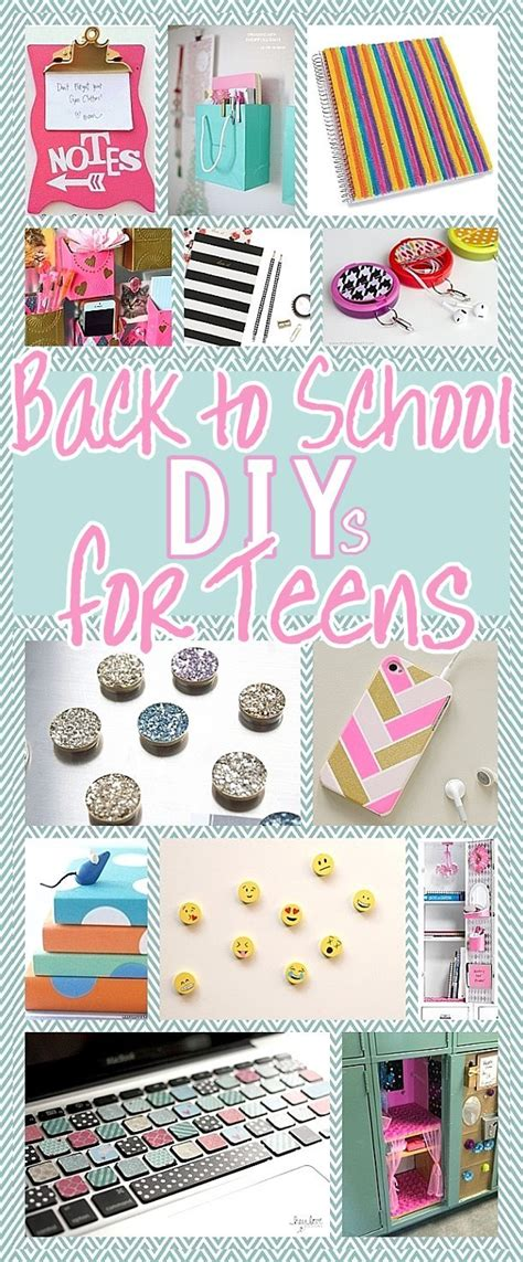 diy school projects the best back to school diy projects for and tweens locker decorations customized school