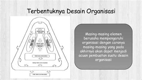elemen desain dan struktur organisasi teori dan pengembangan organisasi desain organisasi