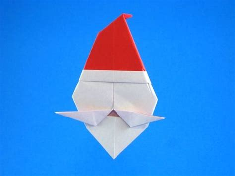 Origami Santa Clause - 202 best images about origami natal on trees