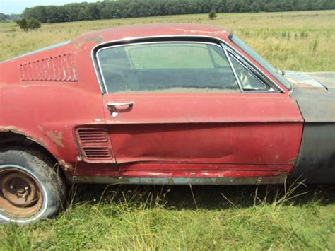 find used 1967 ford mustang fastback c code disc brake and 1967 coupe parts car in jonesboro 1967 ford mustang gt fastback project 67 eleanor c code gt classic ford mustang 1967