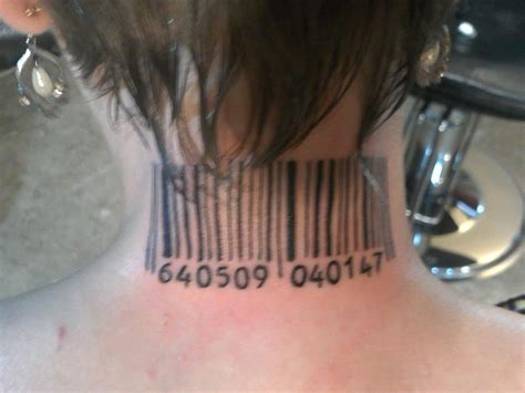 hitman barcode tattoo pin hitman barcode tattoo on pinterest