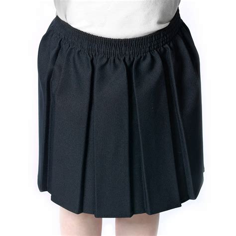 only box pleat school skirts elasticated