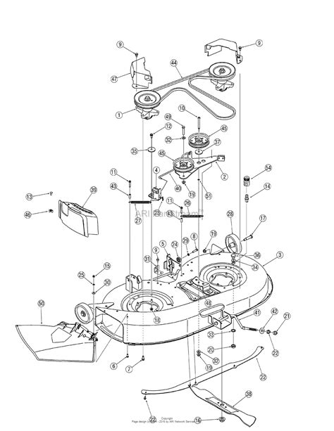 troy bilt belt diagram troy bilt 13an77tg766 pony 2007 parts diagram for deck