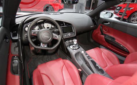 Audi R8 White With Interior by 2013 Audi R8 Interior Photo 4