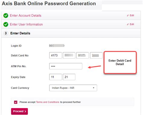axis bank net banking registration axis bank banking activation process