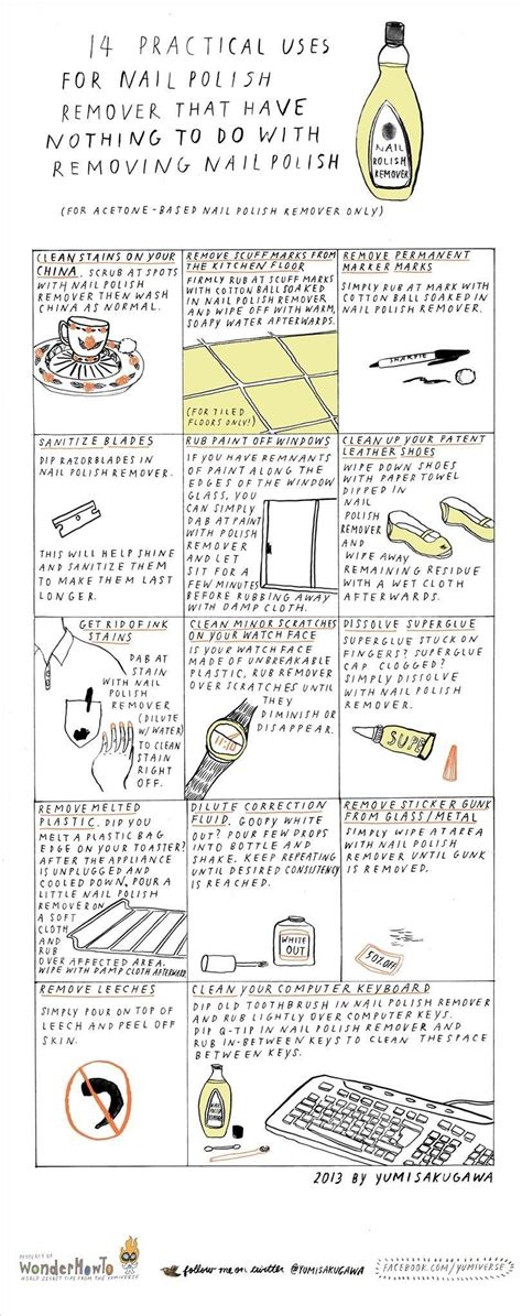 0008131724 i have nothing to do 14 practical uses for nail polish remover that have
