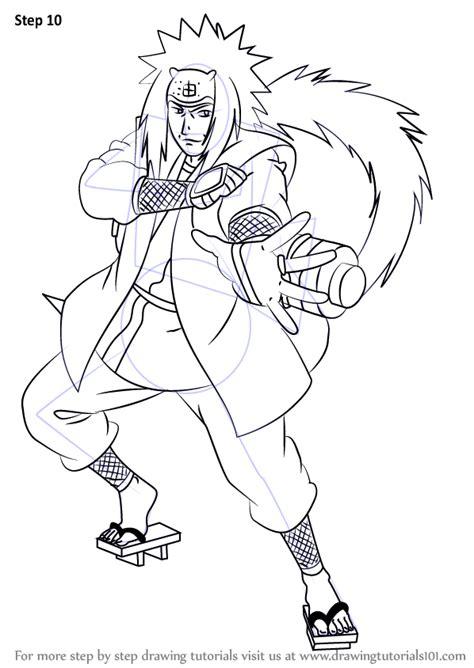 learn   draw jiraiya  naruto naruto step