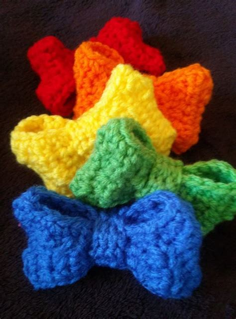 free crochet bow pattern boutique bow