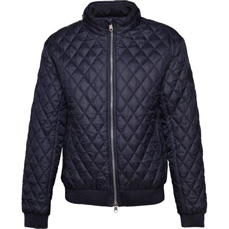 Crosshatch Quilted Jacket by Buy Crosshatch Mens Ceelowe Quilted Bomber Jacket Total