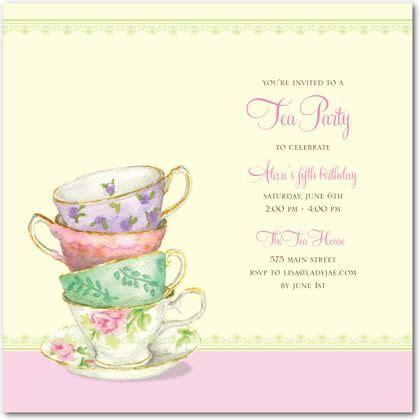 tea party invitation wording tea party invitation wording and