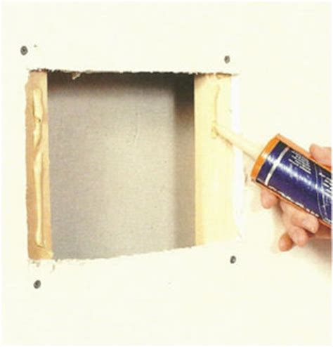 Fix Hole In Wall by How To Fix A Wall And Holes In Walls