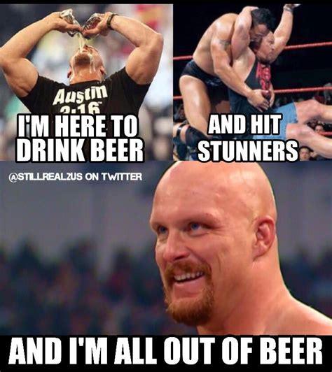 Stone Cold Steve Austin Memes - jcdropp droopydropp twitter