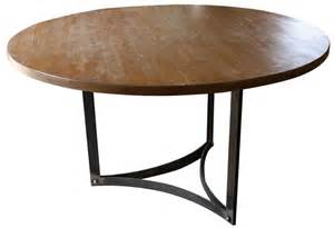 furniture treasure reclaimed wood round dining table
