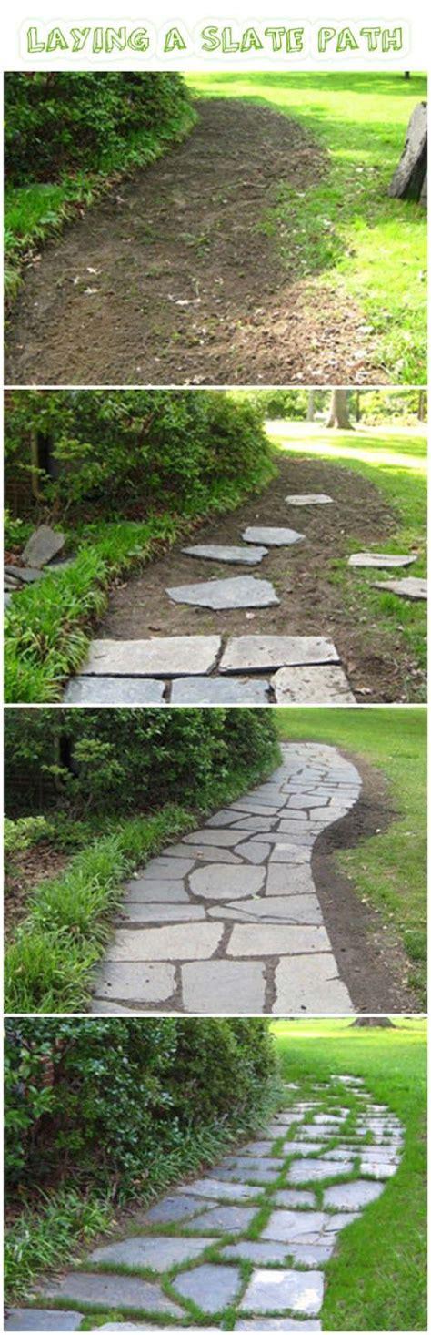 slate walkway pinteres