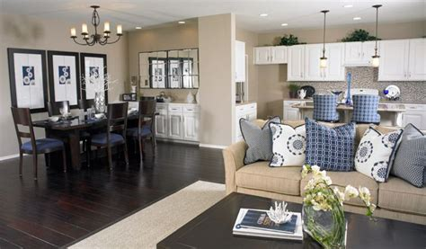 dining room and kitchen combined ideas living room dining kitchen combo denise floor plan