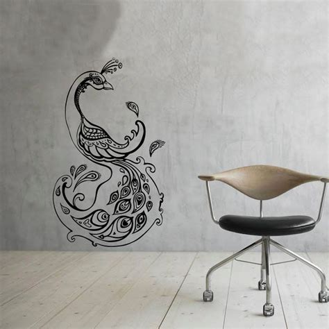 peacock wall stickers popular peacock wall decal buy cheap peacock wall decal
