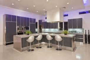 luxury lighting kitchen decor with l shape modern kitchen