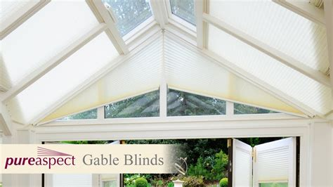 Remove Vertical Blinds Pureaspect Gable Blinds For Conservatories Youtube