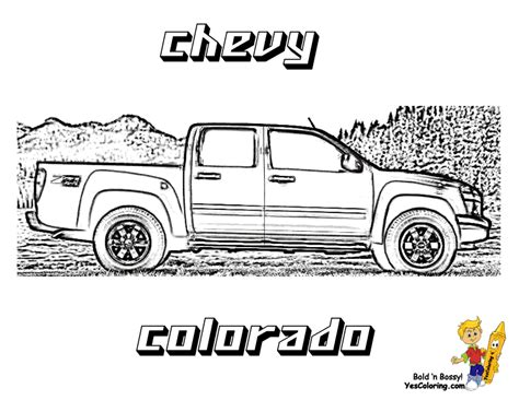 chevy trucks coloring page american pickup truck coloring sheet free trucks jeep