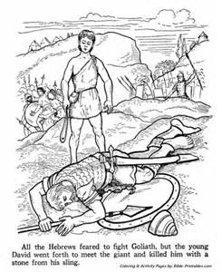 david and goliath coloring page king david coloring pages